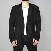 Yohji yamamoto pour homme / SS08 Silk  cotton tailored jacket