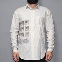 SAGITTAIRE A / SS19 Face print cotton shirt