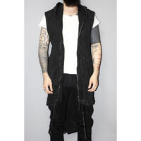 BORIS BIDJAN SABERI / SS16 / SUBSPHERE LONG HOODED NOSLEEVES JACKET