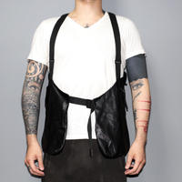 BORIS BIDJAN SABERI / SS17 Leather vest bag / VEST 1