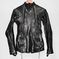 BORIS BIDJAN SABERI / 16AW J4 Horse leather jacket