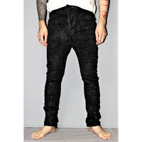 BORIS BIDJAN SABERI / Hand stitched body molded pants P14
