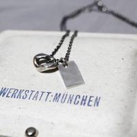 WERKSTATT MUNCHEN / TAG x INFINITY RING NECK LACE