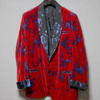 Needles x Velvet Shimokitazawa / One and only hand painted velour  jacket