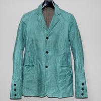 MA+ by Maurizio Amadei / 3 Button back slit leather jacket