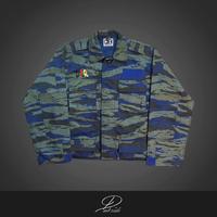 DARK POWER RESPECT ~short length combat jacket~
