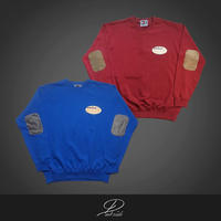 Dirty 06 Finest ~ elbow patch crew sweat~