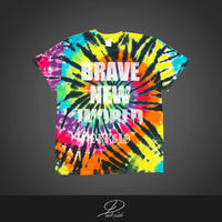 BRAVE NEW WORLD 2  ~tie dye tee~
