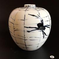 あみをあむ花器(蜘蛛)B
