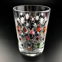 【受注生産】ウォーターグラス(蜘蛛蜘蛛)