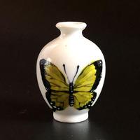 蝶蝶豆花器(ヘリボシアオネアゲハ)