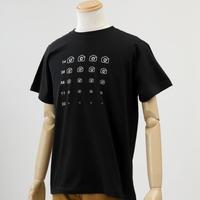カメラ de 視力検査Tシャツ