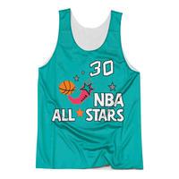 Mitchell&Ness ミッチェル&ネス NBA スコッティ Pippen ピッペン BULLS ブルズ オールスター ALLSTAR リバーシブル タンクトップ バスケシャツ