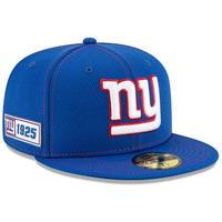 限定 100周年記念モデル NEWERA ニューエラ NY ジャイアンツ Giants 青 59Fifty キャップ 帽子 NFL アメフト 公式 USA正規品
