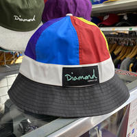 限定コラボ Diamond Supply Co. ダイヤモンドサプライ × Dee&Ricky ディーアンドリッキー バケットハット Colorfull