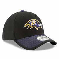 USA正規品 Newera ニューエラ NFL 【S/M】 ボルティモア Ravens レイブンズ  39THIRTY ストレッチフィット FLEX 帽子 キャップ