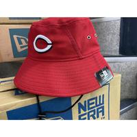 公式クラブハウスモデル NEWERA ニューエラ Reds シンシナティ レッズ BUCKET バケットハット USA正規