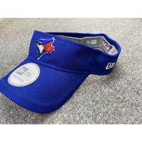 公式クラブハウスモデル NEWERA ニューエラ Visor サンバイザー Jays トロント ブルー ジェイズ MLB