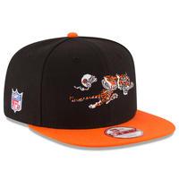USA正規品 NFL ニューエラ NEWERA 旧ロゴ シンシナティ Bengals ベンガルズ スナップバック 9Fifty アメフト 調節可 キャップ Baycik 2トーン