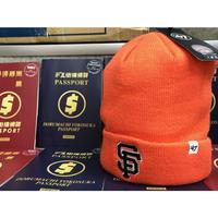 47BRAND 47ブランド GIANTS サンフランシスコ ジャイアンツ MLB ニット帽 ニットキャップ オレンジ メジャーリーグ