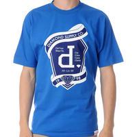 【XL】 Diamond Supply Co ダイヤモンドサプライ 半袖 Tシャツ Un Polo Emblem エンブレム 青 LA ストリート スケーター