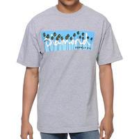 【L】 Diamond Supply Co ダイヤモンドサプライ 半袖 Tシャツ PalmTree ヤシの木 ボックスロゴ LA ストリート スケーター