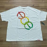 【4XL】 米国製 ダイヤモンドサプライ Diamond Supply Co. 半袖 Tシャツ ACE 白 MFG スケートボード (T12)