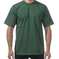 【全国どこでも送料無料】米国製 PROCLUB プロクラブ HEAVY WEIGHT ヘビーウェイト Tシャツ 無地 USA 西海岸 LA 緑 グリーン 6.5 OZ  綿100%