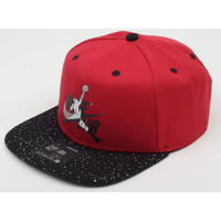 海外限定 USA正規品 人気カラー NIKE ナイキ JORDAN ジョーダン JUMPMAN ジャンプマン PRO スナップバック キャップ CAP セメント 黒 赤