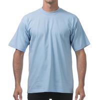 米国製 PROCLUB プロクラブ HEAVY WEIGHT ヘビーウェイト Tシャツ 無地 スカイブルー 6.5 OZ  綿100%