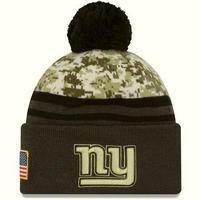 NEWERA ニューエラ NFL ニューヨーク NY ジャイアンツ Giants 迷彩 デジカモ ニット帽 ニットキャップ 内側フリース 星条旗 ベテランズデー
