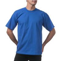 【全国どこでも送料無料】米国製 PROCLUB プロクラブ HEAVY WEIGHT ヘビーウェイト Tシャツ 無地 USA 西海岸 LA 青 ロイヤルブルー 6.5 OZ  綿100%