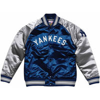 Mitchell&Ness ミッチェル&ネス  NY ニューヨーク yankees ヤンキース サテン スタジアムジャンパー MLB スタジャン
