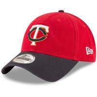 9Twenty ニューエラ NEWERA ミネソタ ツインズ  MLB ストラップバックキャップ 赤/紺  ALT2