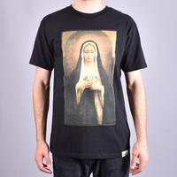 【3XL】 Diamond Supply Co ダイヤモンドサプライ 半袖 Tシャツ Solemn マリア 黒 ブラック LA ストリート スケーター