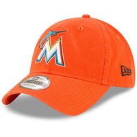 9Twenty ニューエラ NEWERA マイアミ Marlinsマーリンズ MLB メジャーリーグ サイズ調整可 ローキャップ ストラップバック USA正規品