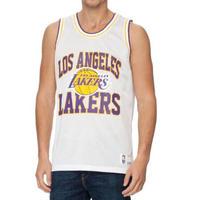 Mitchell&Ness ミッチェル&ネス NBA メッシュタンクトップ LA ロサンゼルス Lakers レイカーズ 白 バスケット ビブス