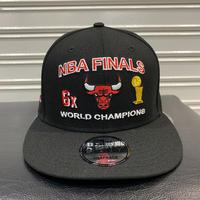 USA限定 Newera ニューエラ NBA ファイナルズ チャンピオン 9FIFTY シカゴ ブルズ