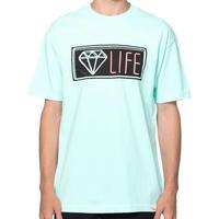 USA製 【M】 Diamond Supply Co ダイヤモンドサプライ 半袖 Tシャツ Neon ネオン DMNDブルー LA ストリート スケーター