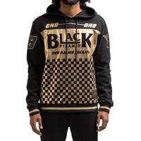 ブラックピラミッド BLACK PYRAMID プルオーバー パーカー OHB Gold Checkered ゴールド 海外限定モデル