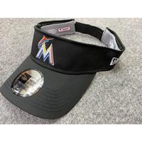 CLUBHOUSE サンバイザー NEWERA ニューエラ Marlins マイアミ マーリンズ  MLB メジャー USA正規品 サイズ調節可
