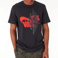USAモデル NIKE ナイキ Jordan ジョーダン FUTURA WINGS ウィング 半袖 Tシャツ 黒 ブラック