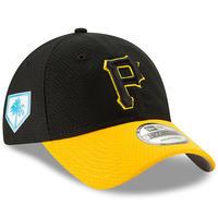 限定 pring TSモデル MLB公式 ピッツバーグ Pirates パイレーツ 黒/黄 NEWERA ニューエラ 9Twenty ストラップバック キャップ USA正規品