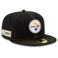 限定 100周年記念モデル NEWERA ニューエラ Steelers スティーラーズ 黒 59Fifty キャップ 帽子 NFL アメフト USA正規品 公式