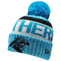 NEWERA ニューエラ PANTHERS カロライナ パンサーズ 公式 ニットキャップ ニット帽 フリース NFL アメフト ポンポン