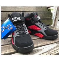 EWING ATHLETICS  パトリック ユーイング FOCUS フォーカス NBA バッシュ スニーカー オールドスクール BLACK/RED/CASTLEROCK