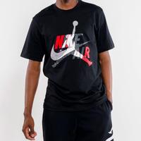 USAモデル NIKE ナイキ AIR JORDAN エア ジョーダン JUMPMAN ジャンプマン MushUp  マッシュアップ Tシャツ 黒