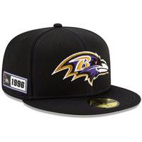 限定 100周年記念モデル NEWERA ニューエラ Ravens ボルチモア レイブンズ 59Fifty キャップ 帽子 NFL アメフト USA正規品 公式