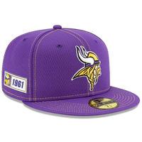 限定 100周年記念モデル NEWERA ニューエラ VIKINGS ミネソタ バイキングス 59Fifty キャップ 帽子 NFL アメフト 公式 USA正規品