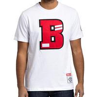 日本未入荷 BLACK PYRAMID ブラックピラミッド BIG B パッチ Tシャツ 半袖 クリスブラウン 白 ホワイト